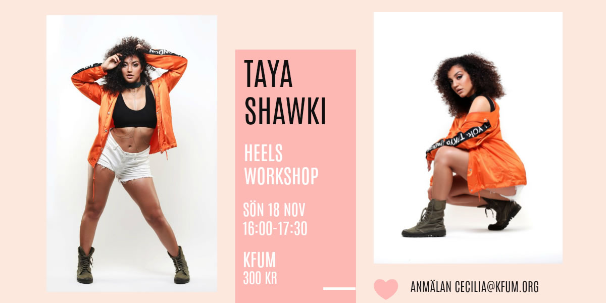 Workshop Taya Shawki 18/11
