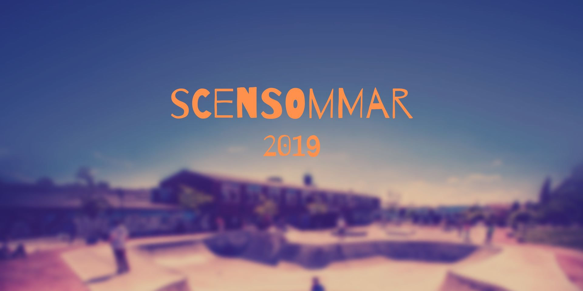 Scensommar 2019