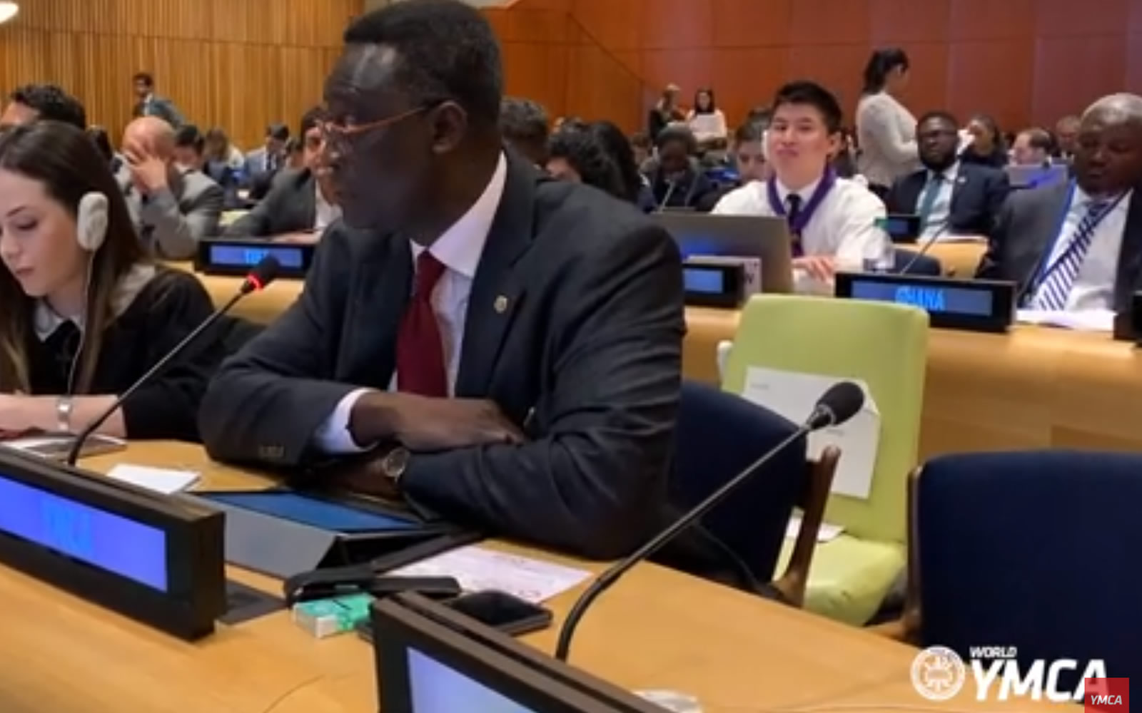 World YMCA submits statement to the UN